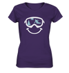 Just Smile - Ladies V-Neck Shirt