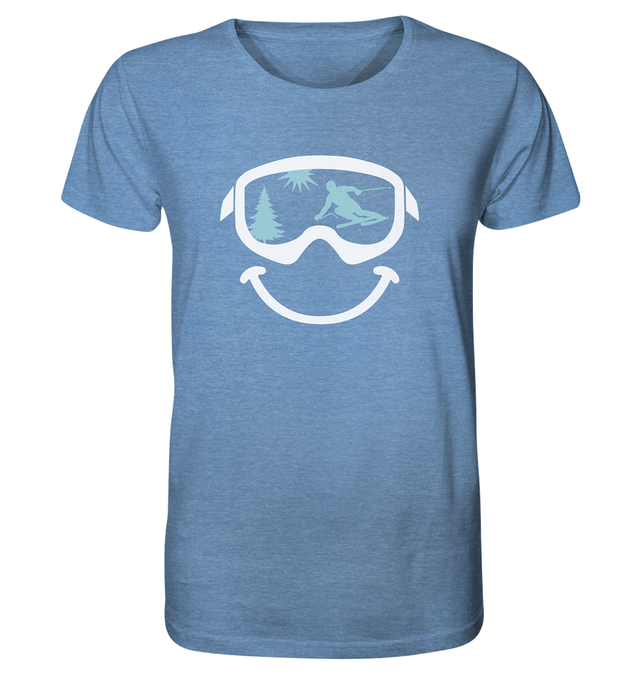 Just Smile - Organic Shirt Meliert