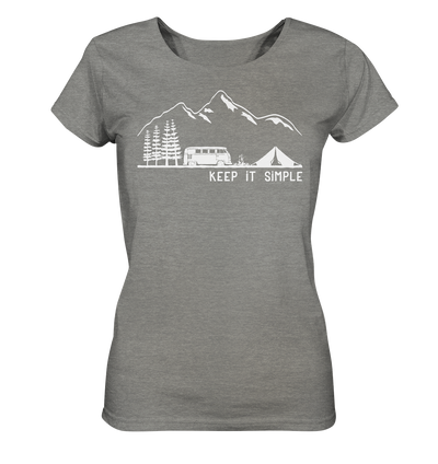 Keep it Simple - Ladies Organic Shirt Meliert