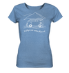 Adventures Fill Your Soul - Ladies Organic Shirt Meliert
