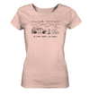 Do What Makes You Happy - Ladies Organic Shirt Meliert