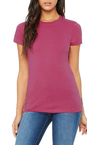 OAKLAND HONEY SIGNATURE TEE BERRY/PINK