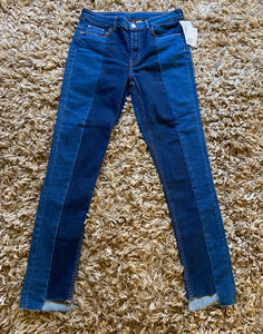 SIZE 8 - Never worn H & M Straight Leg Jeans - Consignment