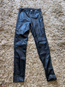 SIZE 10 - Never worn H & M Faux Leather Pants - Consignment