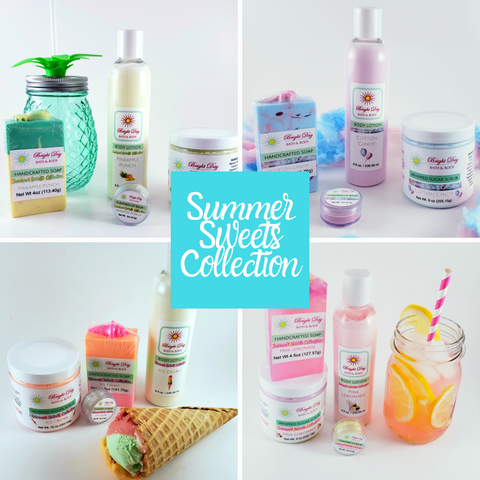 Bath and Body Products - Summer Sweets Collection