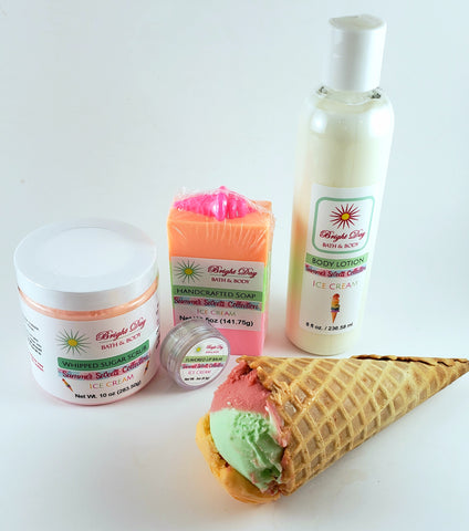 Ice Cream 4-Piece Set
