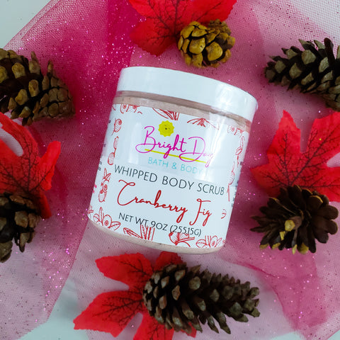 Cranberry Fig Whipped Body Scrub