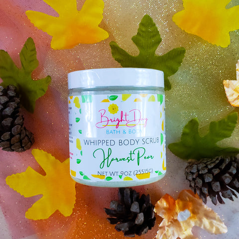 Harvest Pear Whipped Body Scrub