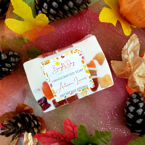 Autumn Leaves Soap