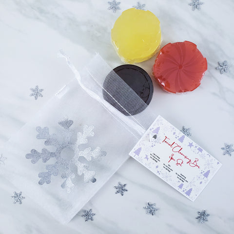 Facial Cleansing Bar 3pc Stocking Stuffer