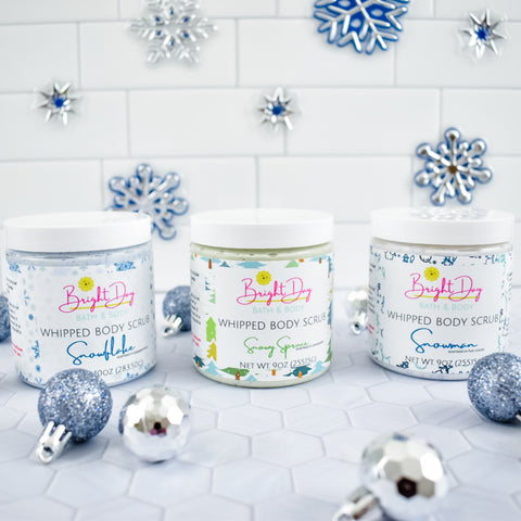 Let it Snow 3pc Whipped Body Scrub Set