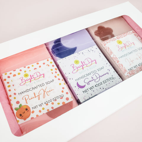 Pretty in Pink Soap Trio Box
