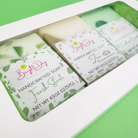 So Fresh & So Green, Green Soap Trio Box