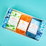 His Bright Day Soap Trio Box