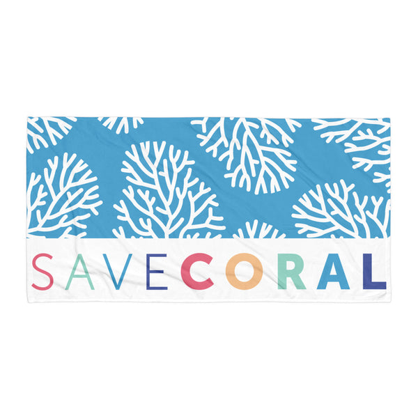 Save Coral Towel