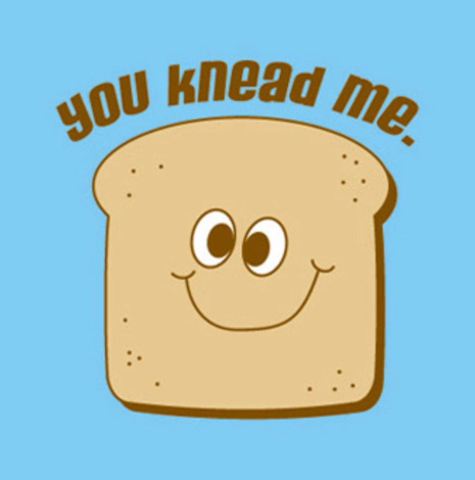 Knead Me Greeting Card