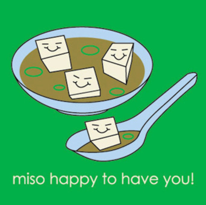 Miso Greeting Card