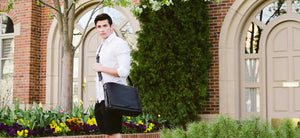 Leather Messenger Bags - Our Leather Messenger Bags are made from the finest Italian buffalo leathers in Italy.