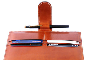 Soft Leather Covered Executive Portfolios