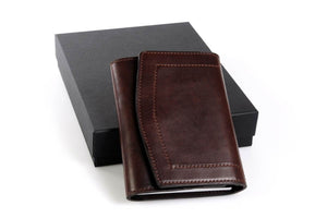 Personalized Walnut Travel Portfolio