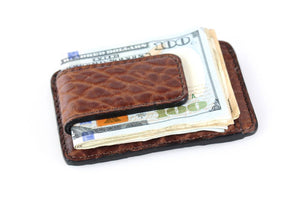 Soft Leather Executive Magnetic Business Cards Holder