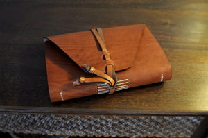 Vachetta Italian Leather Handmade Journal - Terra