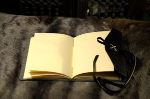Cool Engraved Writing Book by Borlino