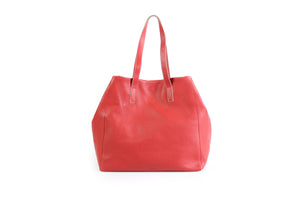 Borlino Red Tote Made in Italy