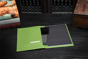 Cool Engraved Padfolio with Notepad and Tablet Sleeve