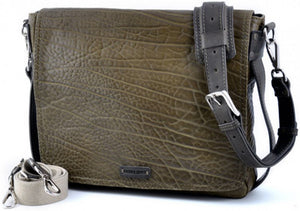 Messenger Bag, Buffalo Leather, leather Messenger Bag, leather, messenger, courier bag, Moss