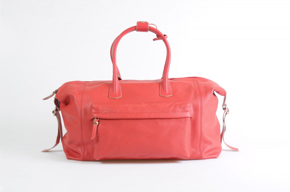 Travel Bag - Handmade Italian Leather Duffel 2b0834f8c5944
