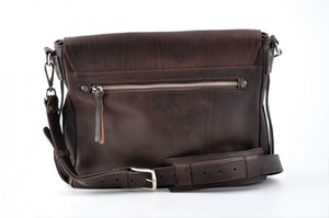 Messenger Bag, Leather Messenger Bag, courier bag, leather bags, vintage leather, mail bag, Walnut Brown