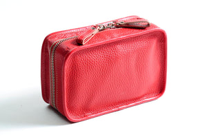 Leather Woman's Toiletry Bag