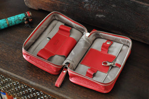 Leather Women's Toilet Case