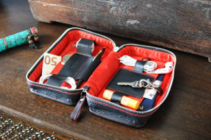 Leather Woman's Travel Case