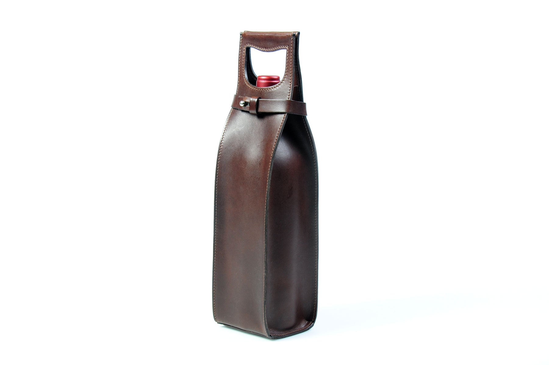 Leather Wine Carrier >> Italian Leather Wine Carrier Leather Wine Case Borlino