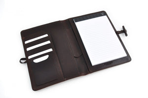 Pad Folio with Pen and Business Card Holder