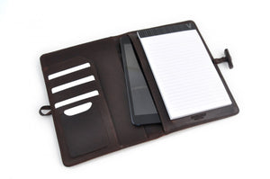 Padfolios with Replaceable Lined Paper and iPad Tablet Sleeve - Handmade in Italy by Borlino