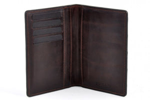 Stingray Leather Passport Case