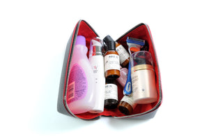 Toiletry Kits and Travel Cases Leather Made in Italy by Borlino