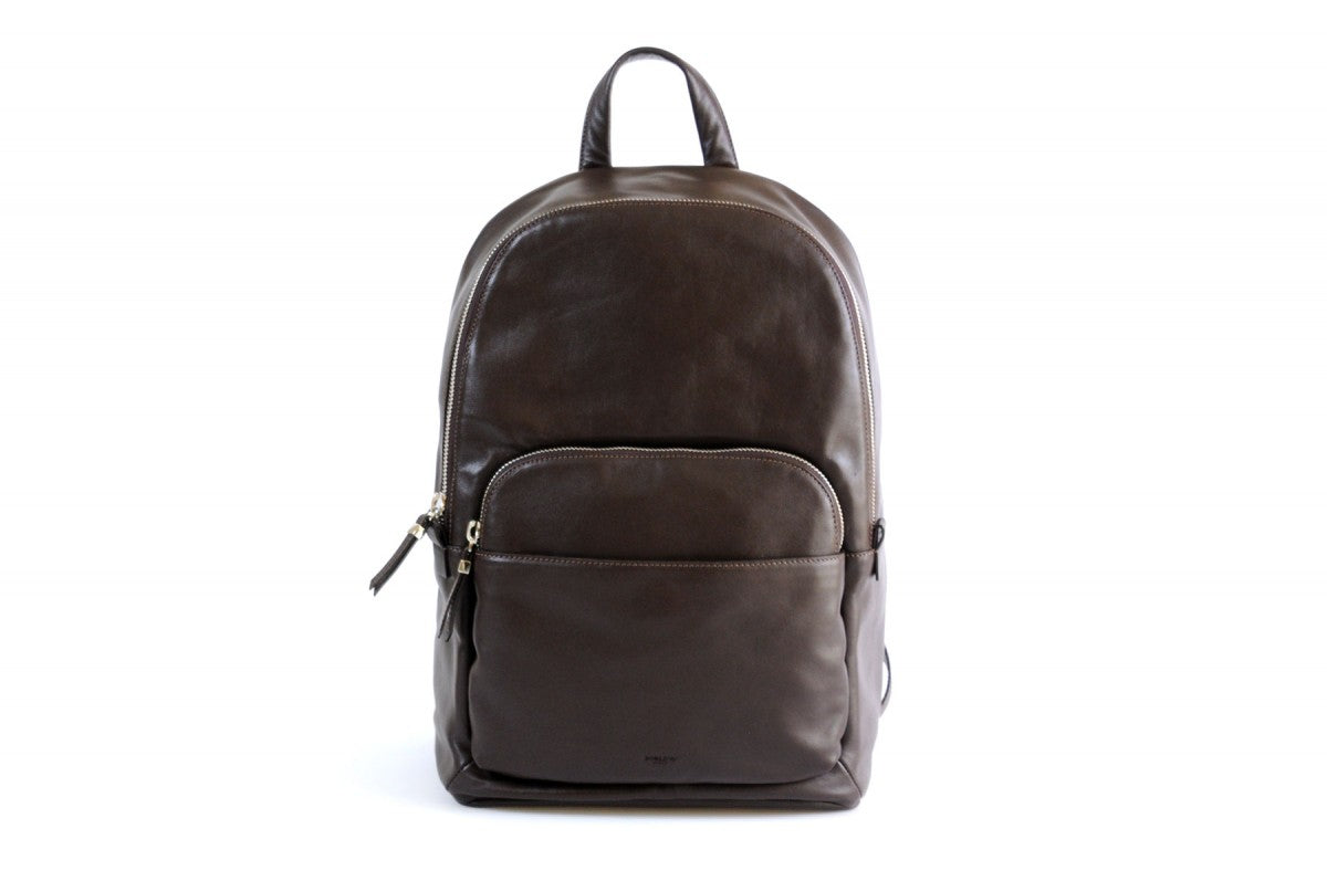 Leather Backpack - Our lightweight Walnut Calf Leather Belluno Backpack is our sleekest style contemporary backpack yet. Made from beautiful soft calf leathers that will become even softer and more beautiful over time.
