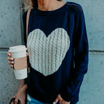 Load image into Gallery viewer, Heart Pullover