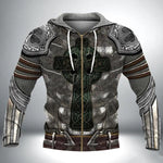 Load image into Gallery viewer, Armor Knight Warrior 3D All Over Printed Hoodie