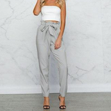 Baggy Waist-Tied Pants