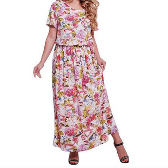 Dress Long Maxi Dress Robe Casual