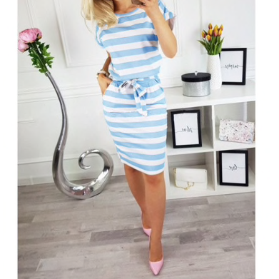 Summer Dress Casual Bandage