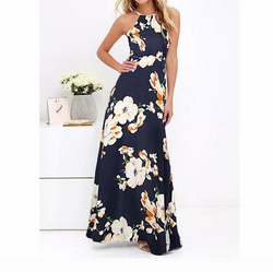 Summer Maxi Long Dress Vintage