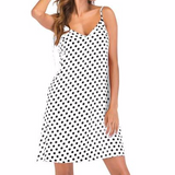 Dress Polka Dot Print