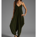 Load image into Gallery viewer, Jumpsuit Strap Sleeveless V-Neck Loose