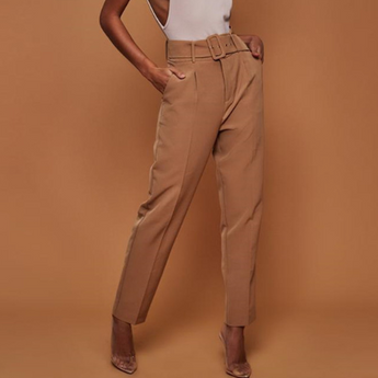 Casual Pants High Waist